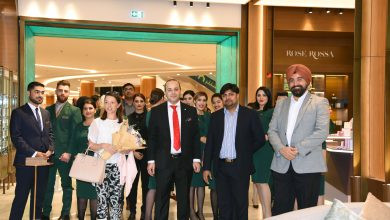 صورة إفتتاح أول متجر لمقهى ثيرد أفينيو و متجر لعلامة حب في دلما مول أبوظبي