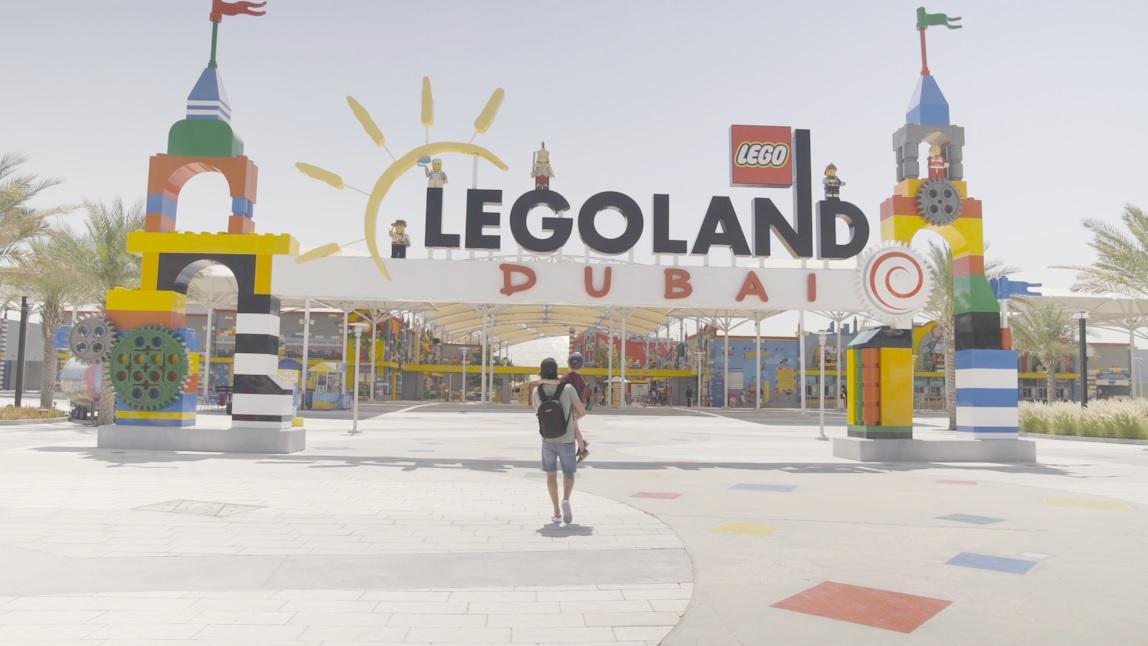 منتزه ليجولاند دبي يستضيف ضيفين مميزين من عشاقه