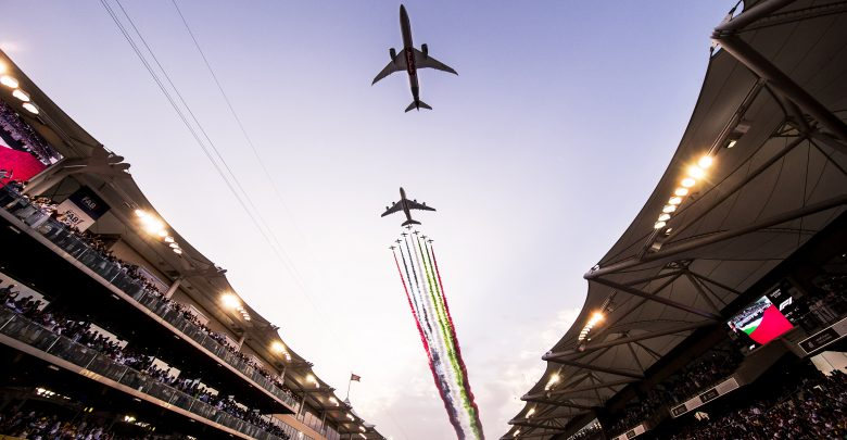 إحجزوا تذاكركم لسباق جائزة الاتحاد للطيران الكبرى للفورمولا1 قبل نفاد الكمية !