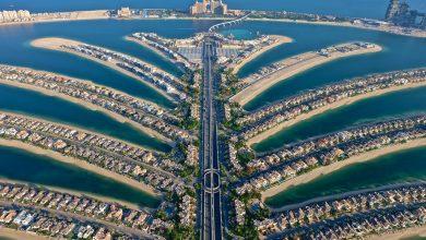 صورة ذي فيو النخلة احدث منصة مشاهدة على ارتفاع 240 متراً في دبي