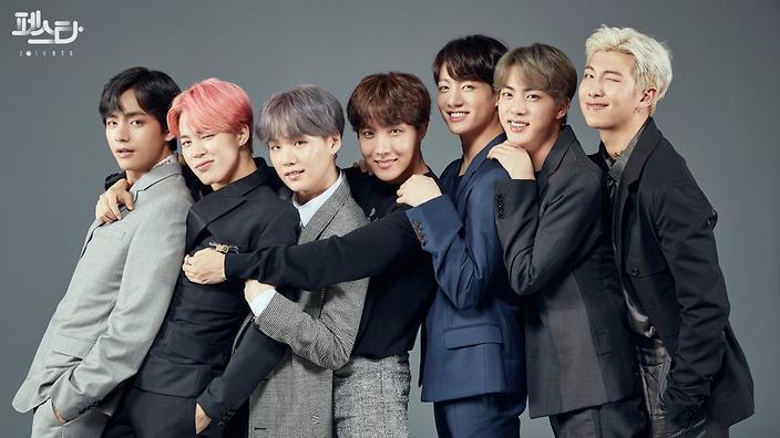 فرقة الكيبوب BTS