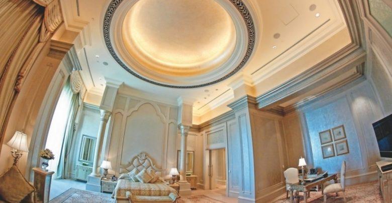 ما الذي يجعل من جناح القصر أغلى جناح فندقي في أبوظبي ؟