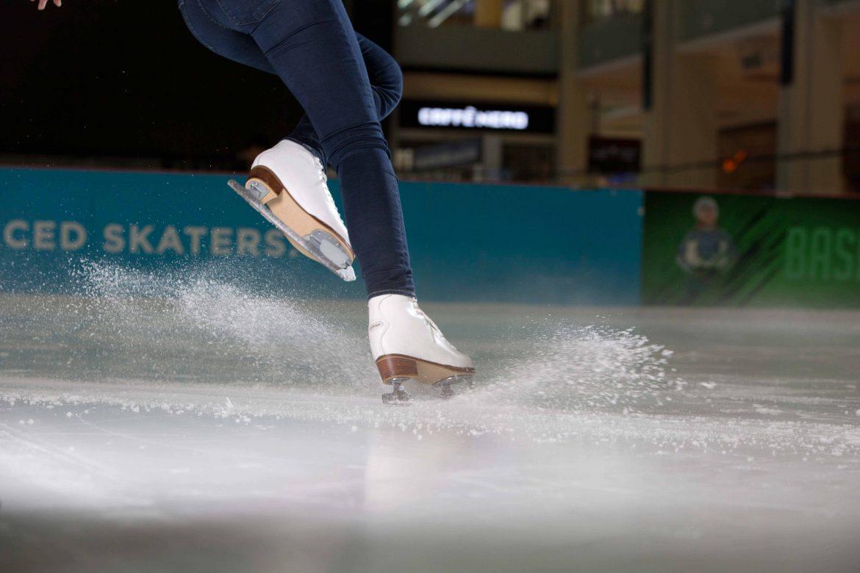 ألعاب الجولف المصغر على الجليد
