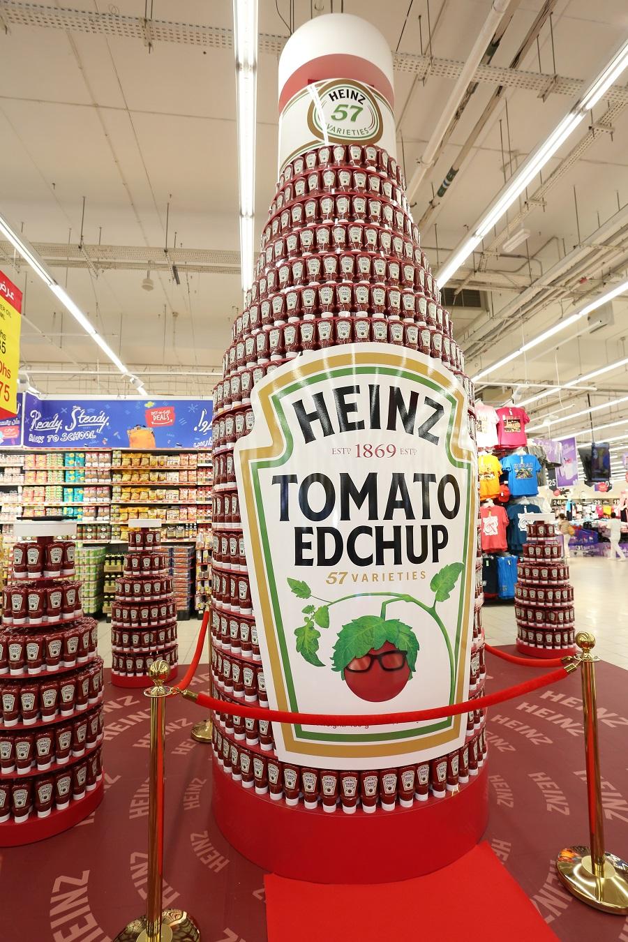 رقم قياسي إماراتي جديد لأطول مجسم عرض للمعلبات الغذائية في العالم