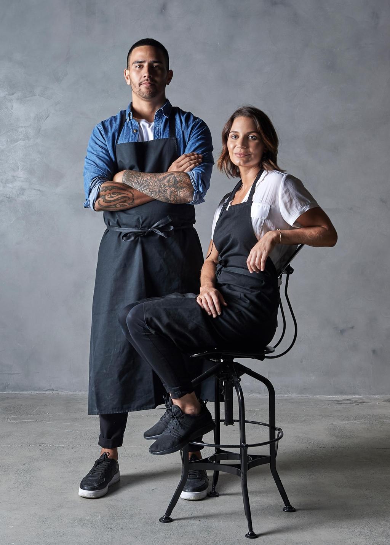 ثنائي الطهي جيسي بليك وكيت كريستو