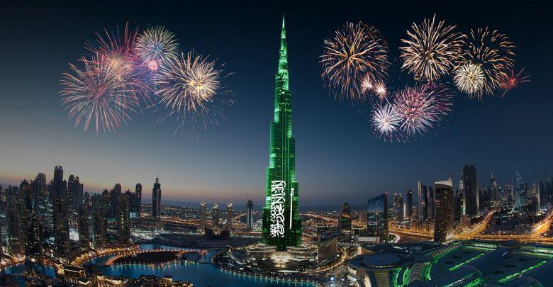أنشطة متنوعة في دبي مول و وسط مدينة دبي إحتفاءاً بمناسبة اليوم الوطني السعودي