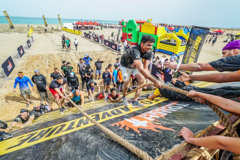 فعاليات مسابقة تحدّي الطين في دبي فستيفال سيتي