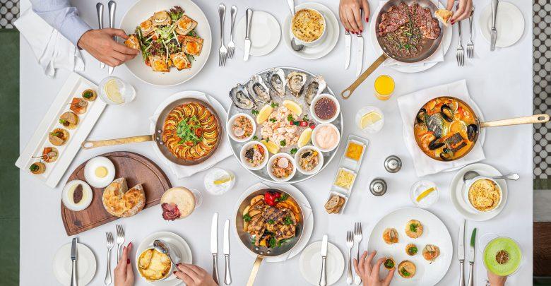 مطعم بي كيو فرينش كيتشن آند بار يقدم برانش باريس باريس المسائي