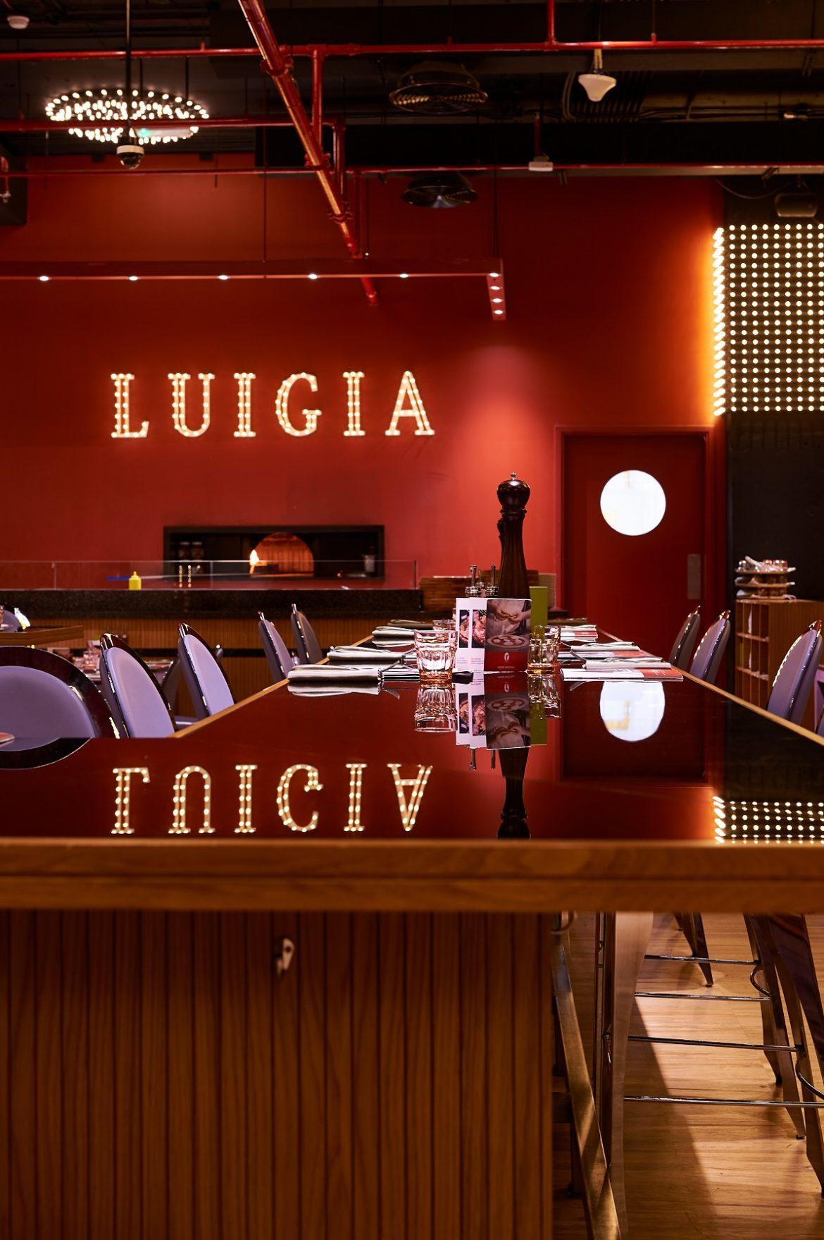 المطعم الإيطالي Luigia دبي