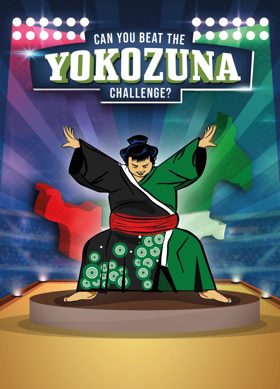 النسخة الثانية من تحدي يوكوزونا سوشي