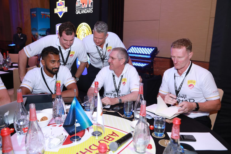 فريق أبوظبي يشارك في دوري أبوظبي Τ10 للكريكت 2019
