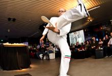 مطعم بيتشه يستضيف بطل إعداد البيتزا بالحركات البهلوانية باسكوالينو بارباسو