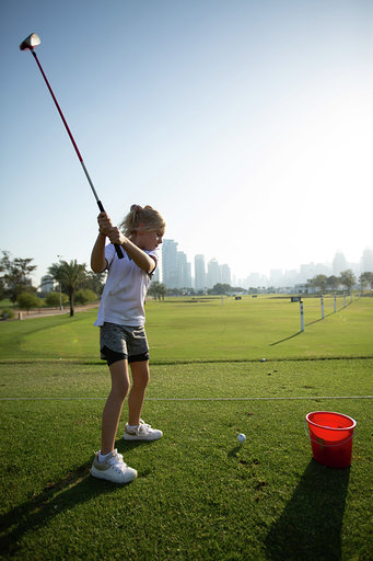 موسم الجولف الجديد في دبي جولف