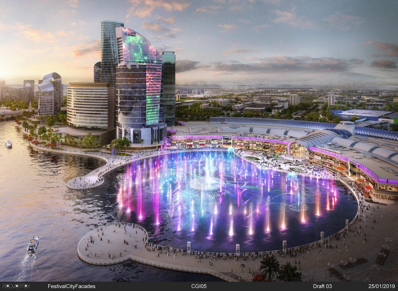 دبي فستيفال سيتي مول Dubai FestivalCityMall