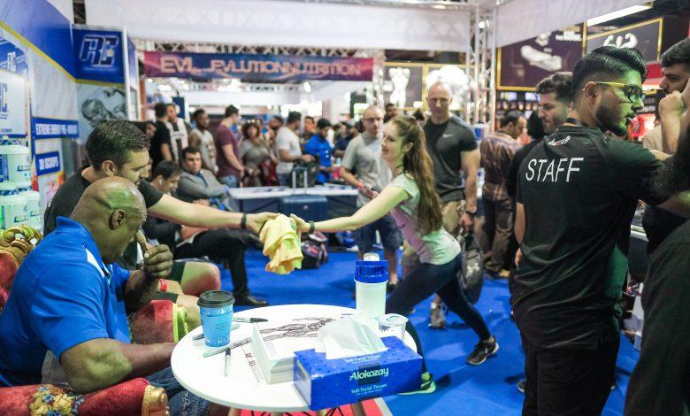 ترقبوا النسخة الرابعة من معرض دبي لبناء العضلات 2019