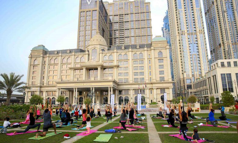 فنادق هيلتون دبي تشارك في تحدي دبي للياقة 2019