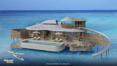 Photo of منتجعات سونيفا فوشي تطلق فلل عائمة وسط مياه المالديف الفيروزة