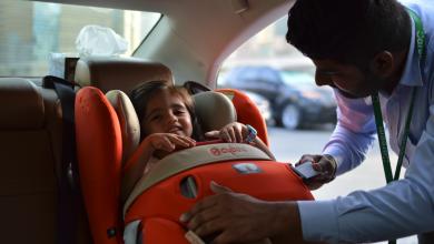 صورة كريم يقدم أفضل خدمة آمنة ومريحة لتوصيل الأطفال من وإلى المدرسة