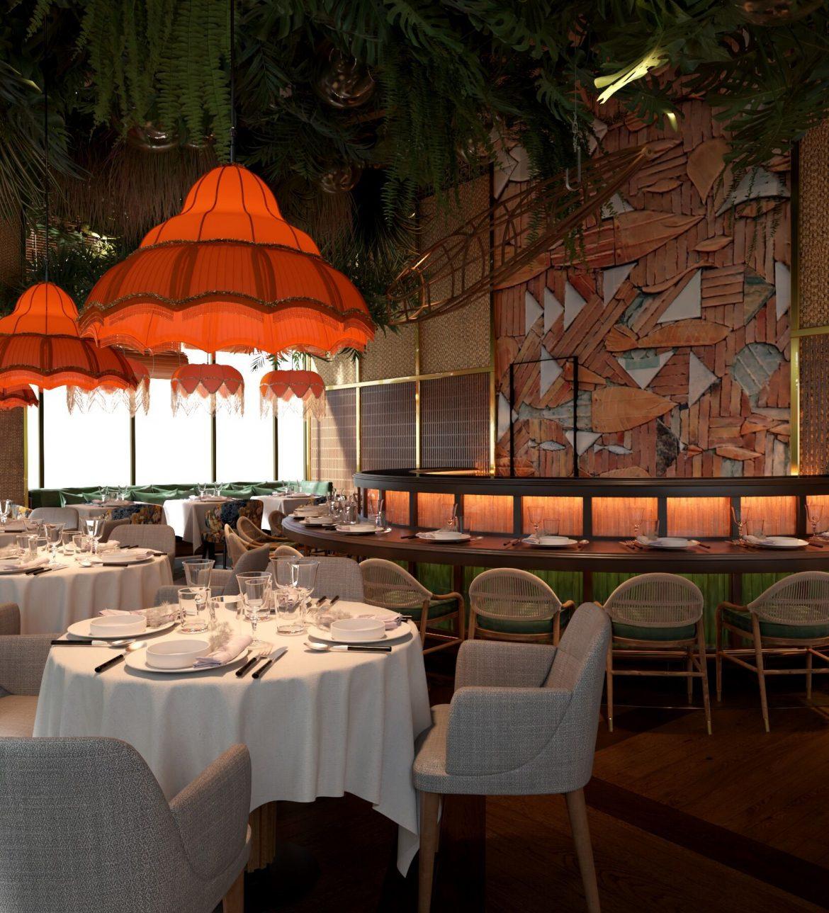 مطعم أمازونيكو المدريدي