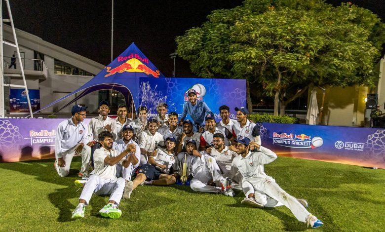 الإمارات تحتضن النهائيات العالمية لبطولة ريد بُل لكريكيت الجامعات 2019