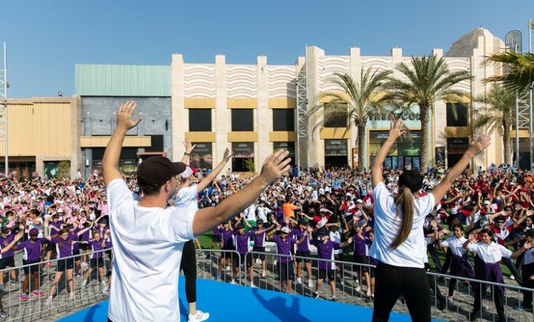 دبي تستضيف أضخم فعالية لياقة بدنية مخصصة للأطفال