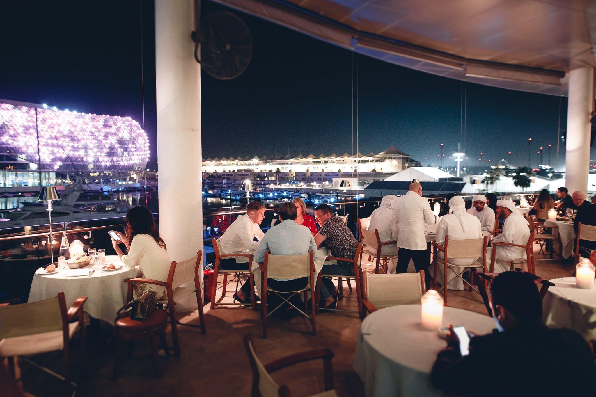 ضيوف سباق الفورمولا 1 في أبوظبي