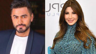 حفل تامر حسني و نانسي عجرم خلال رأس السنة 2020 في أبوظبي