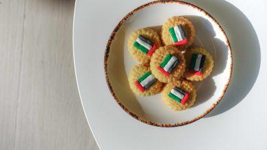 صورة حلوى مجانية في مطعم شبابيك إحتفالاً باليوم الوطني للإمارات ال 48