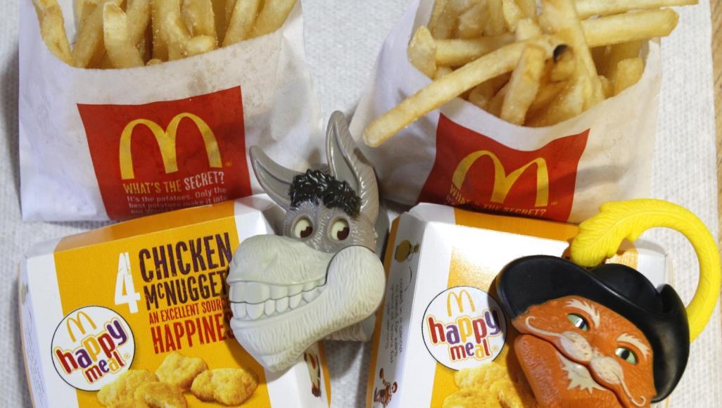 وجبات هابي ميل من مطاعم ماكدونالدز