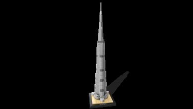 صورة ليغو تطلق مجموعة ليغو برج خليفة من جديد احتفاءً بعيد الإتحاد 2019