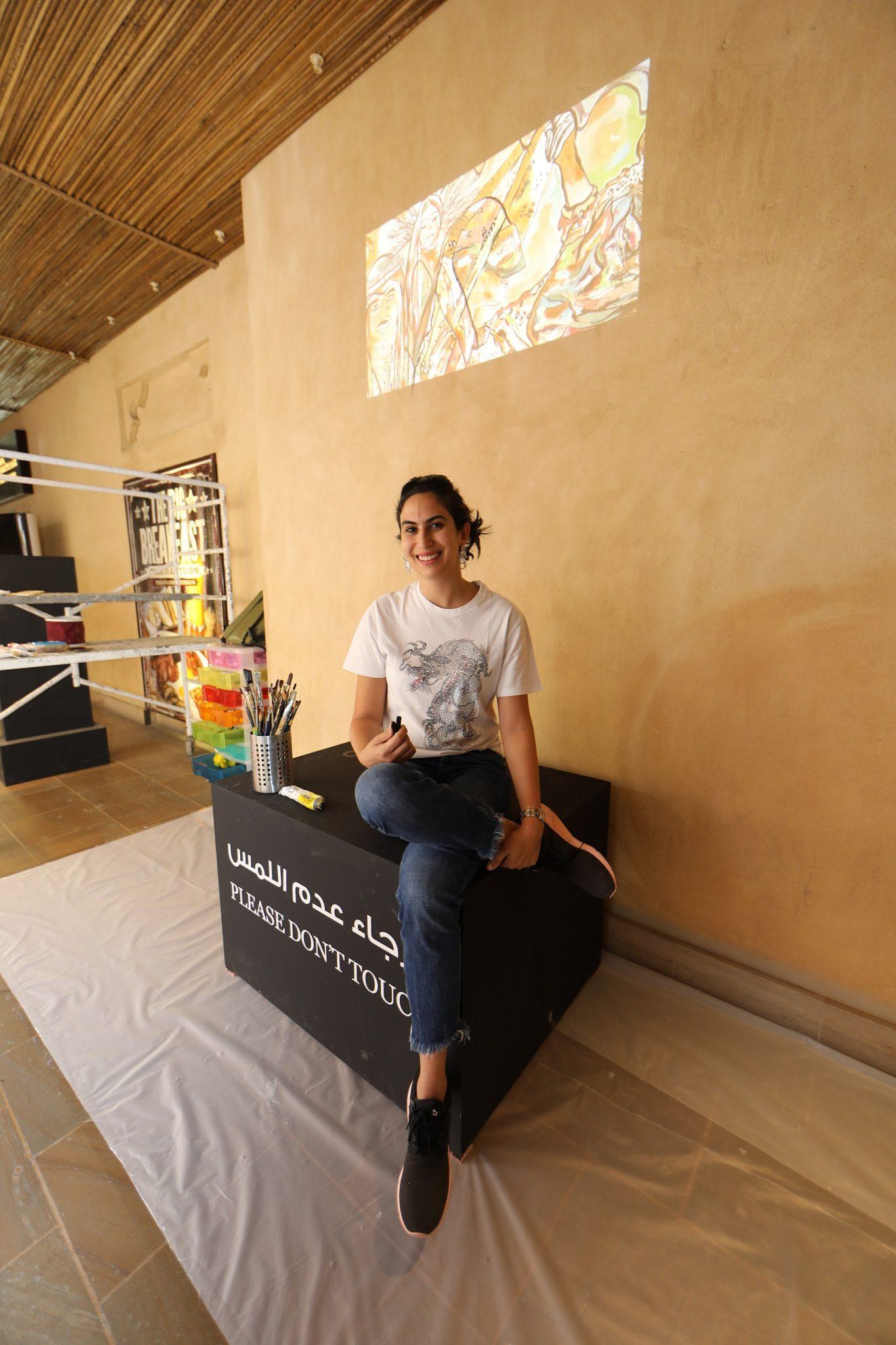 أشهر الفنانات في الإمارات