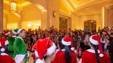 صورة العروض الإحتفالية بموسم الاعياد 2019 في منتجع سانت ريجيس السعديات بأبوظبي