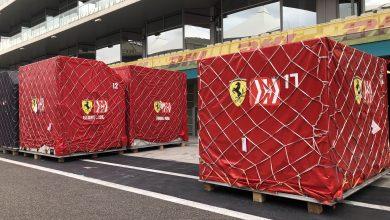 صورة الإستعدادات لبدأ سباق جائزة الاتحاد للطيران الكبرى للفورمولا1 2019