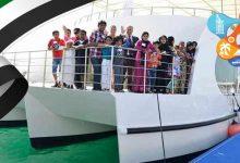 صورة إحتفلوا بعيد الإتحاد الإماراتي ال 48 في رحلة بحرية بدبي مارينا