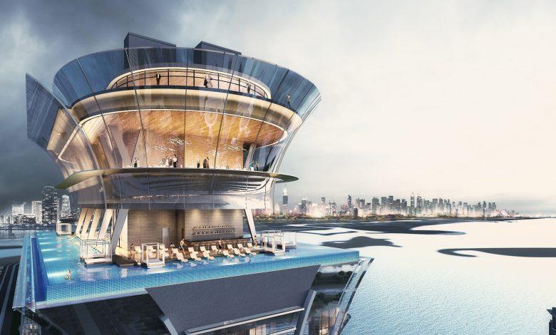 قريباً إفتتاح سطح الترفيه أورا سكاي بول أند لونج الأول من نوعه في دبي