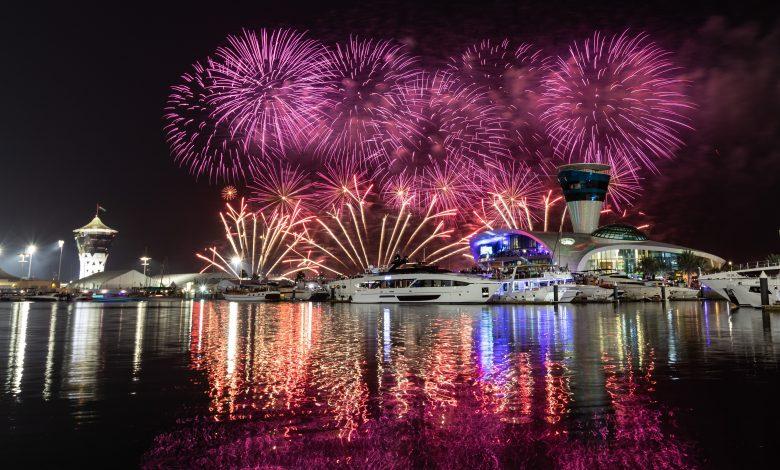 إحتفالات ضخمة في مرسى ياس مارينا خلال راس السنة 2020