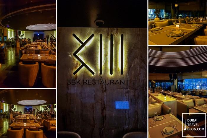 مطعم 3BK دبي