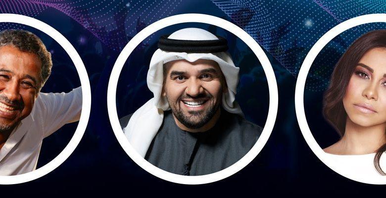 حفل مشترك يجمع الشاب خالد وحسين الجسمي وشيرين عبد الوهاب في دبي
