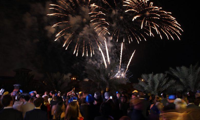 العروض الإحتفالية براس السنة 2020 في منتجع سانت ريجيس السعديات