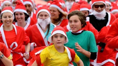 Photo of دبي تستضيف سباق الجري مع سانتا كلوز لاول مرة على الإطلاق