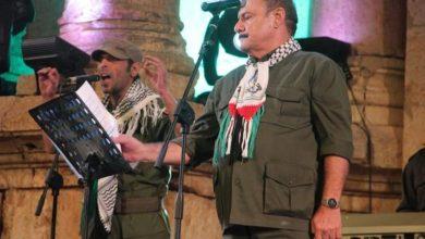 صورة حفل فرقة أغاني العاشقين الفلسطينية في دبي أوبرا