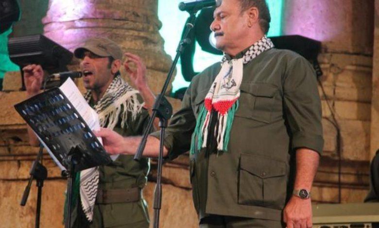 حفل فرقة أغاني العاشقين الفلسطينية في دبي أوبرا