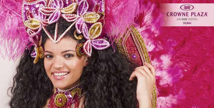 إحتفلوا بالسنة الجديدة ضمن أجواء برازيلية مميزة في فندق كراون بلازا