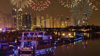 حفل عشاء راس السنة 2020 على متن رحلة بحرية في مطعم صن اند