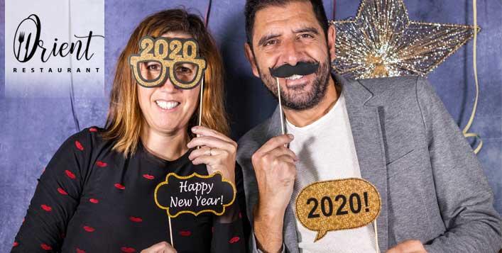 مطعم اورينت يطلق بوفيه عشاء لذيذ إحتفالاً برأس السنة 2020