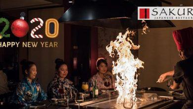 صورة أهم عروض مطعم ساكورا الياباني إحتفالاً بالسنة الجديدة 2020