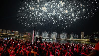 Photo of جزيرة الماريه تنجح في تقديم احد أكبر الاحتفالات بالعام الجديد