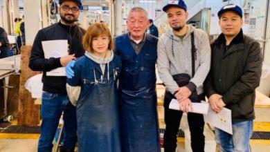 صورة فريق سومو سوشي آند بينتو يتزود بمهارات جديدة من المطبخ الياباني