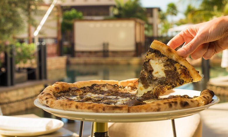 أين تتناول أفضل بيتزا الكمأة في دبي ؟