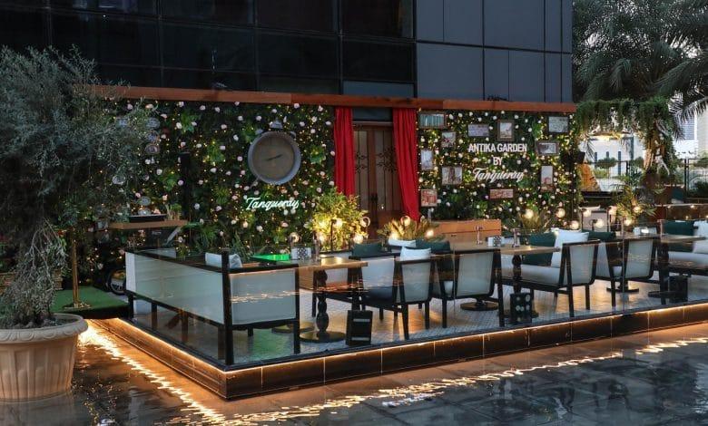 مطعم أنتيكا بار يفتتح رسمياً شرفته الخارجية الجذابة